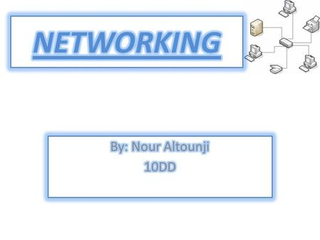 A network is a collection of computers connected by communication channels that allows you to share information.  mputer_network.