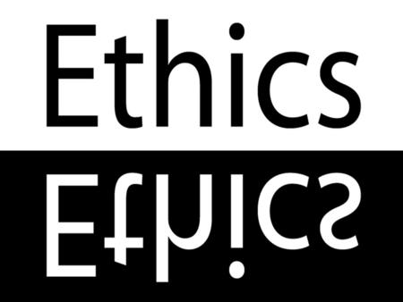 What are Ethics? Ethics are the moral principals that govern the conduct of individuals and organizations. The moral basis we use to resolve dilemmas.