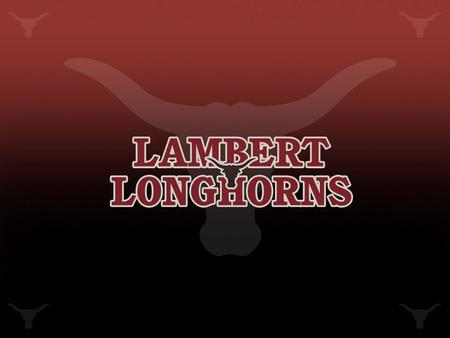 Lambert Cheerleading Expectations Follow all rules stated by the LHS Cheerleading Constitution Attend summer activities and camps Maintain high academic.