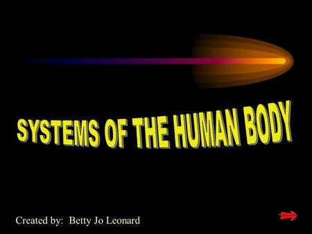 Created by: Betty Jo Leonard THE SKELETAL SYSTEM.
