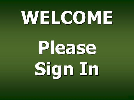WELCOME Please Sign In. East Texas Council of Governments Grant Application Workshop January 2014.
