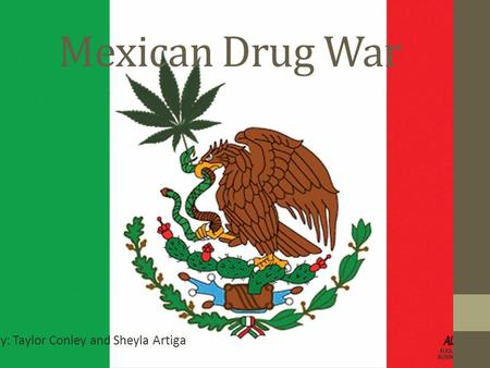 Mexican Drug War By: Taylor Conley and Sheyla Artiga.