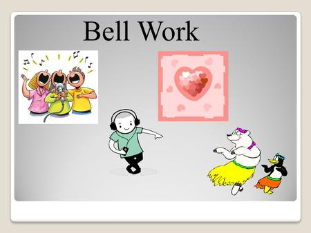 Bell Work. Unit 2 Exam If you have not taken unit 2 exam, come back during lunch hour before Wednesday(11/28)