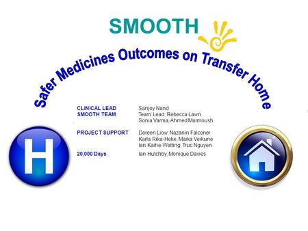 Safer Medicines Outcomes on Transfer Home