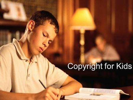 Copyright for Kids. What is Copyright? Copyright is a United States LAW that protects the works of authors, artists, composers and others from being used.