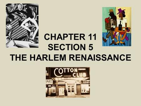 the details of events during the american harlem renaissance in the 1920s