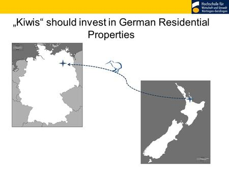 """Kiwis"" should invest in German Residential Properties."