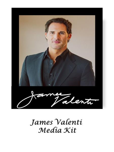 James Valenti Media Kit. American tenor, James Valenti has a voice of Italianate lustre which is continually compared to some of the greatest tenors of.
