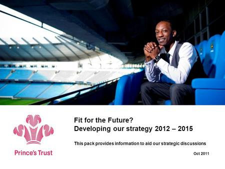 Fit for the Future? Developing our strategy 2012 – 2015 This pack provides information to aid our strategic discussions Oct 2011.