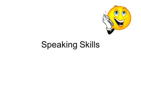 Speaking Skills. Independent Tasks There are two independent tasks in the TOEFL exam. One is a free-choice response, and the other is a paired response.