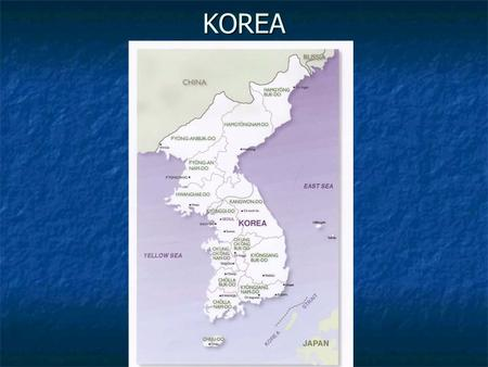 KOREA. I. GEOGRAPHY – peninsula (land surrounded by __________) on 3 sides. - 2 countries ___________ and ______________ A. Korea has served as a cultural.