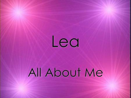 Lea Lea All About Me My Favorite Things nachos trampoline puppies art.