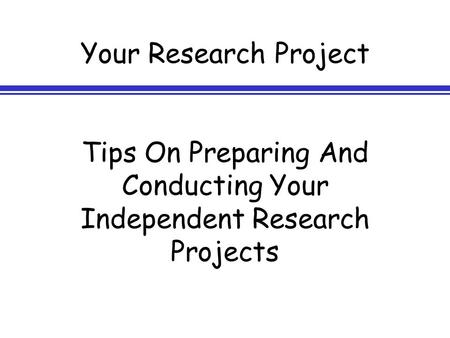how to conduct primary research 7 research challenges (and how to overcome them smeaton says that other valuable resources for conducting research include access to a large number of data.