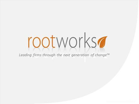 Leading firms through the next generation of change™