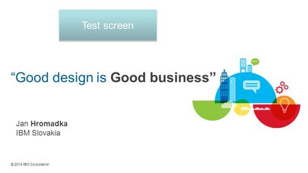 """Good design is Good business"""