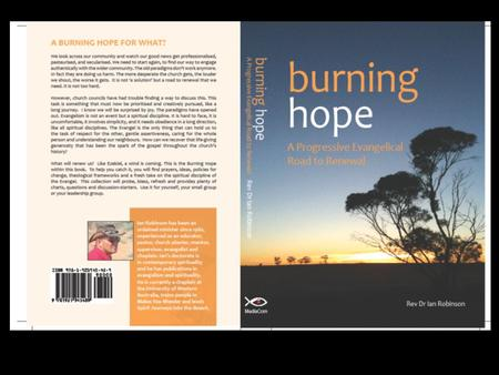 Burning hope A Progressive Evangelical Road to Renewal.