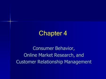 What is Consumer Behaviour ?