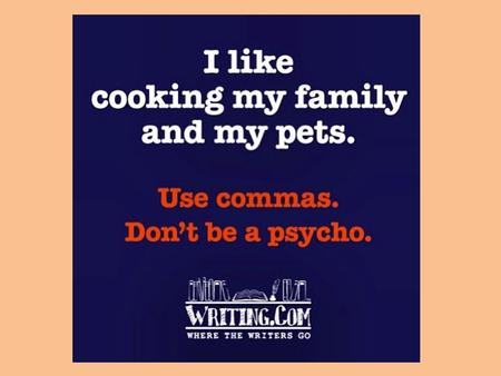 Commas in Sentences Commas in Compound Sentences Use a comma before a conjunction that joins independent clauses in a compound sentence. An independent.