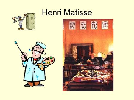 Henri Matisse. Henri is known for his use of patterns and texture in many of his paintings. The walls, screens, and fabric patterns create texture on.