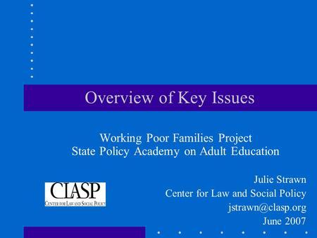 Development studies: Key first-year reads