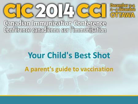 Your Child's Best Shot A parent's guide to vaccination.