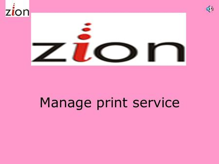 Manage print service Introduction Zion imaging solutions is a professional company of remanufactured toner cartridges and providing MPS solutions to.