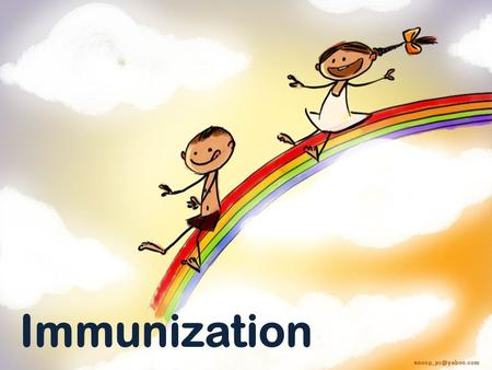Immunization. Immunization: Immunization is the process of inducing immunity artificially by either vaccination (active imm.)or administration of antibodies.