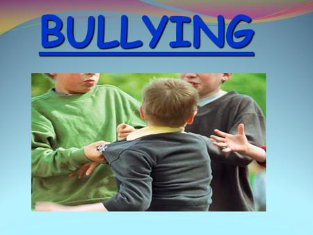 BULLYING 1 Lucia– How does this make you feel? Not too good does it. Victims of bullying feel this same pain your are feeling right now. They deal with.