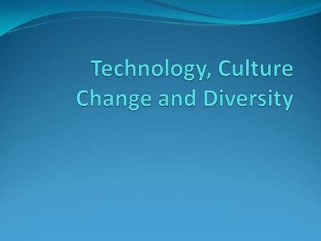 is technology changing culture The dynamic association among culture and technology means that technologies furthermore change the cultures that use them regularly presumably, this alteration in culture is better for at least the predictable future, or there would be no motive to use the new technology, that constantly develops.