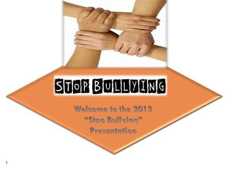 1. How to help your child deal with bullying situations and increase self-esteem Presented by: Judy Valeski, M.Ed and Sheila Jones, M.A. Bullying and.