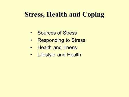 Coping stress health and antonovsky pdf