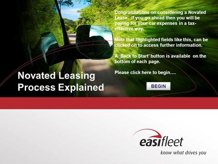 Second level Third level Fourth level Fifth level Novated Leasing Process Explained Congratulations on considering a Novated Lease. If you go ahead then.