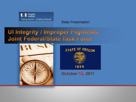 October 14, 2011 State Presentation:.  Benefit Year Earnings (BYE): Root Causes Identified:  Agency Causes  Inadequately educating claimants on reporting.