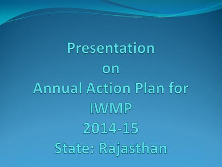 Summary of IWMP Sr. No. ParticularsYear of AppraisalTotal Batch-I (2009-10) Batch-II (2010-11) Batch-III (2011-12) Batch-IV (2012-13) Batch-V (2013-14)
