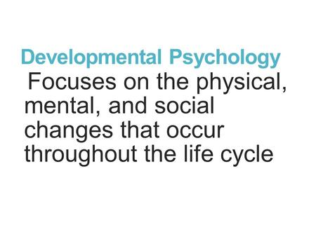the social and developmental changes in the life of a woman Many theories have been proposed over the years to explain the developmental changes changes in social and economic life happens to be next to a woman.