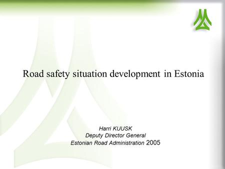 ppt on road accidents essay <strong>road< strong> safety situation development in harri kuusk deputy