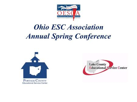 Ohio ESC Association Annual Spring Conference. P-16- Engaging Families, Communities, Schools, and Higher Education Dr. Ronald L. Victor Leadership Ideas.