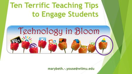 Ten Terrific Teaching Tips to Engage Students