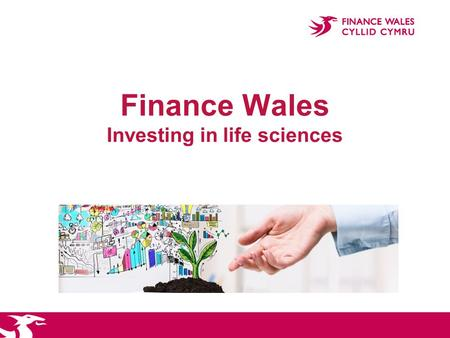 Finance Wales Investing in life sciences. Who are we?  The Finance Wales Group comprises:  Finance Wales  FW Capital, our non Welsh fund management.