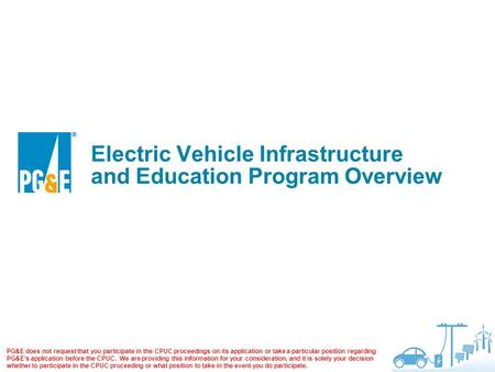 Electric Vehicle Infrastructure and Education Program Overview