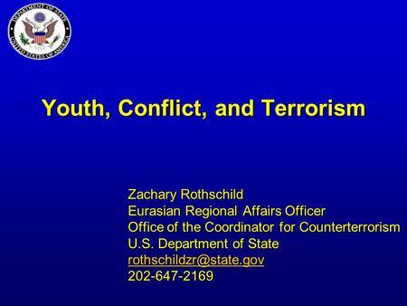"office of counterterrorism essay The iraqi counter terrorism service office of the special inspector general for ""iraq strengthens the counter terrorism bureau,"" the long war."