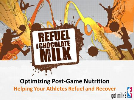 Optimizing Post-Game Nutrition Helping Your Athletes Refuel and Recover.