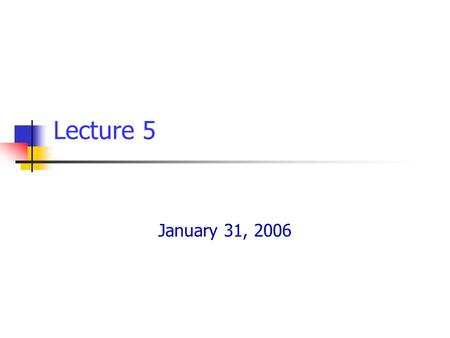 Lecture 5 January 31, 2006.  Sudhir K. Jain, IIT Kanpur E-Course on Seismic Design of Tanks/ January 2006 Lecture 5/ Slide 2 In this Lecture Impulsive.