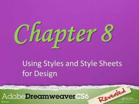 Using Styles and Style Sheets for Design