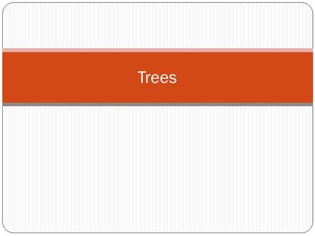 Trees. Tree Terminology Chapter 8: Trees 2 A tree consists of a collection of elements or nodes, with each node linked to its successors The node at the.