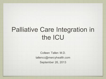 Program development for safety net institutions catherine for Palliative care family meeting template