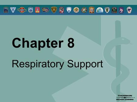 Chapter 8 Respiratory Support. © 2005 by Thomson Delmar Learning,a part of The Thomson Corporation. All Rights Reserved 2 Overview  Breathing  Assessment.