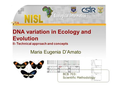 Maria Eugenia D'Amato Slide 1