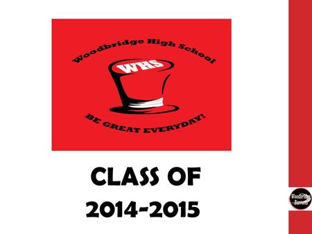 CLASS OF 2014-2015. Gathering Information Schedule a Meeting with your Counselor Use Resources Collegeboard.com College and Career Fairs Woodbridge High.