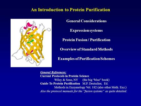 An Introduction to Protein Purification